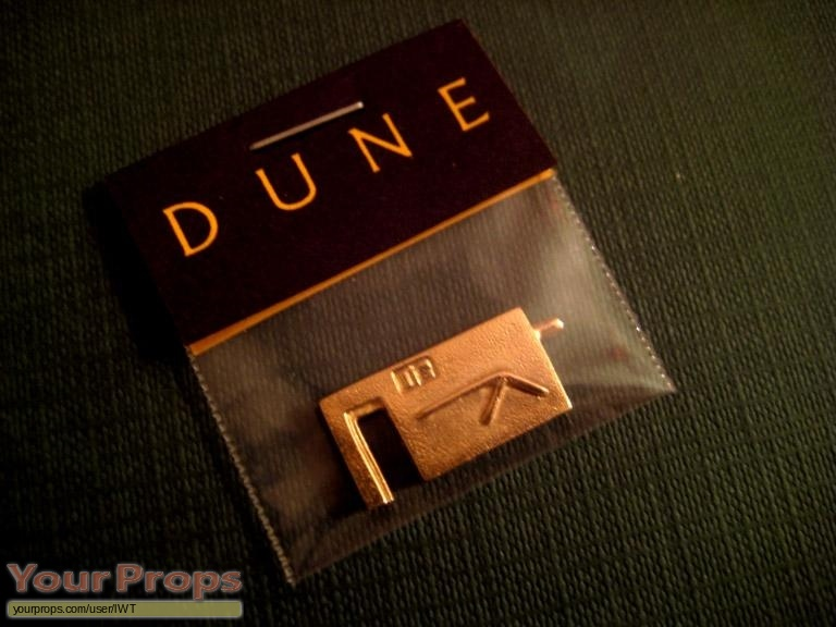 Dune scaled scratch-built movie prop