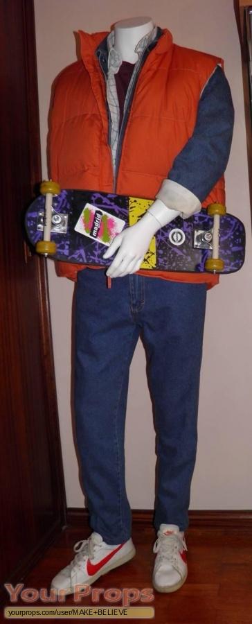Back To The Future replica movie costume