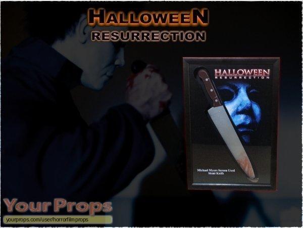 Halloween  Resurrection original movie prop