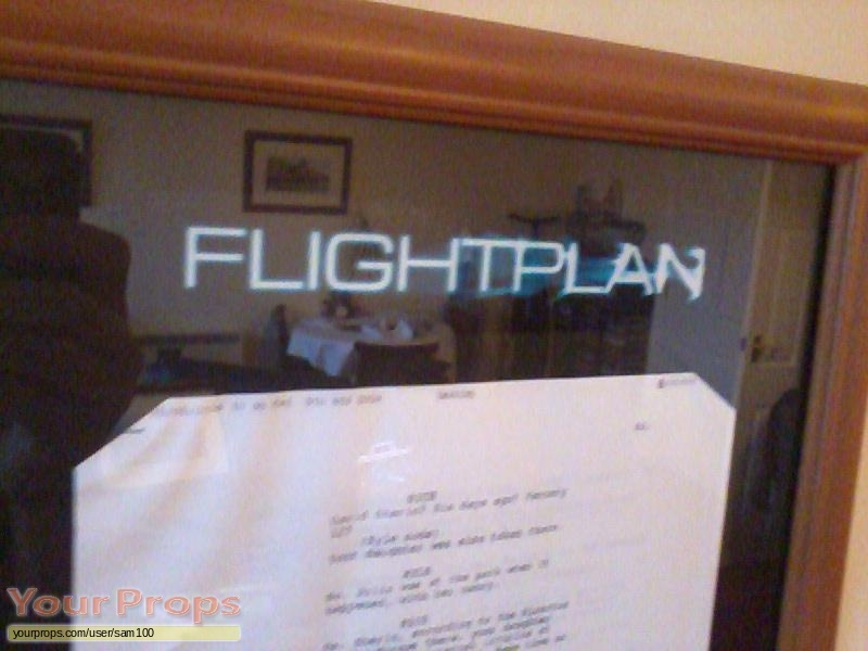 Flightplan original production material
