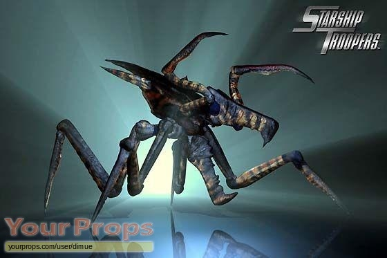 Starship Troopers original production material