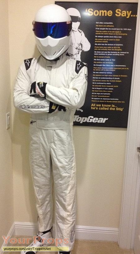 Top Gear replica movie costume