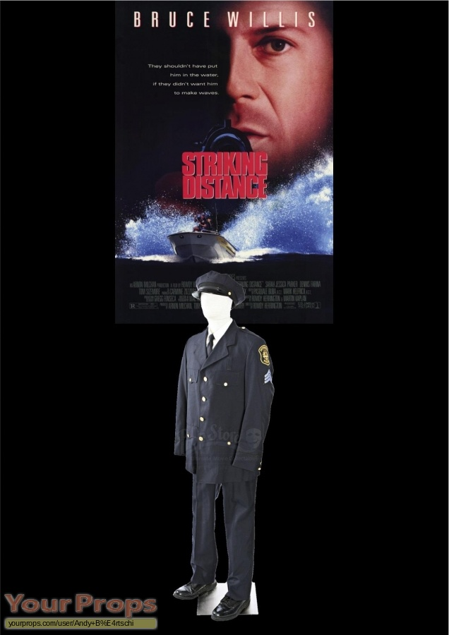 Striking Distance original movie costume