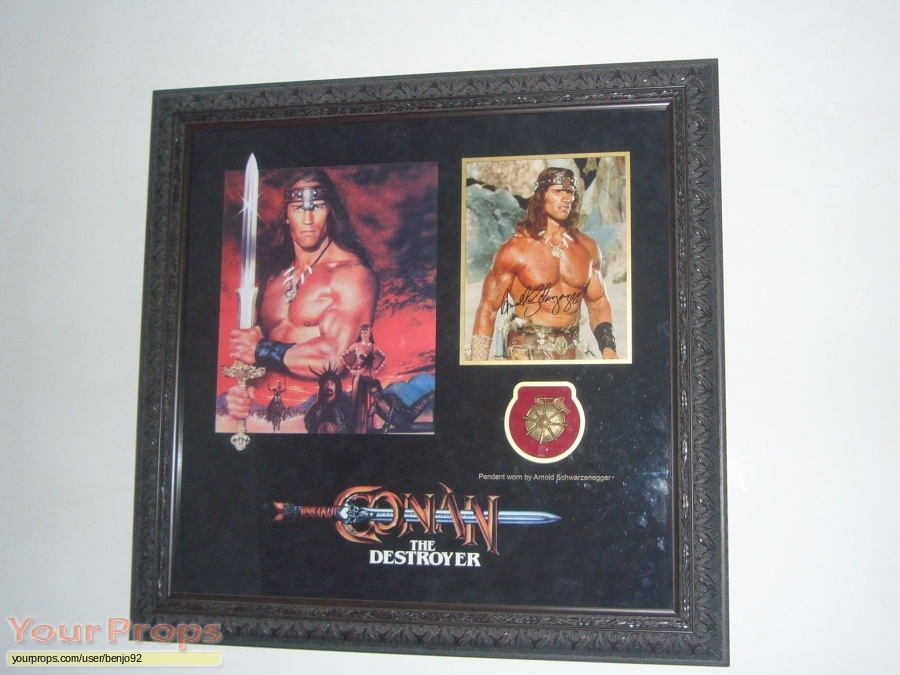 Conan the Destroyer original movie prop