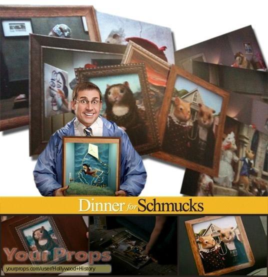 Dinner for Schmucks original movie prop