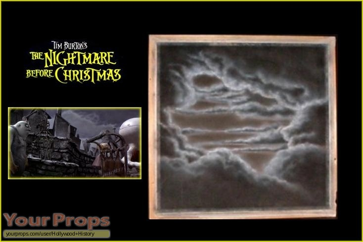 The Nightmare Before Christmas original production material
