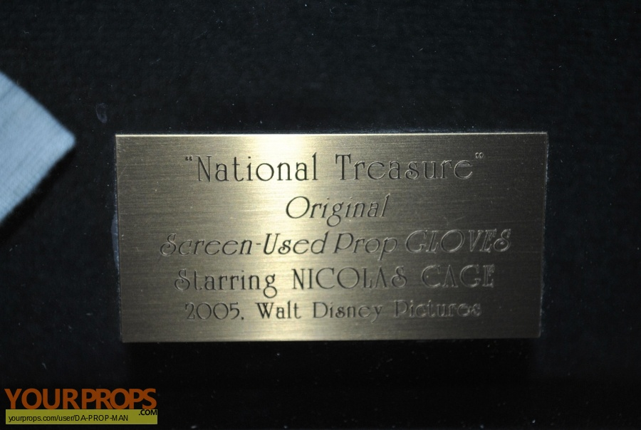 National Treasure original movie prop