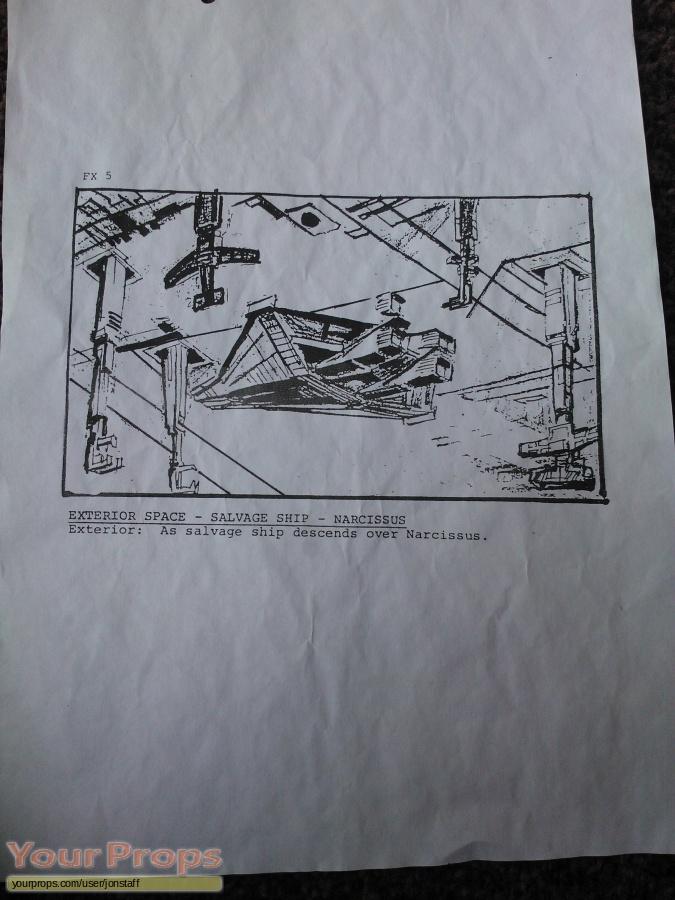 Aliens original production artwork