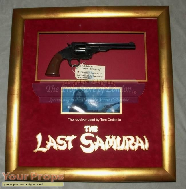 The Last Samurai original movie prop weapon