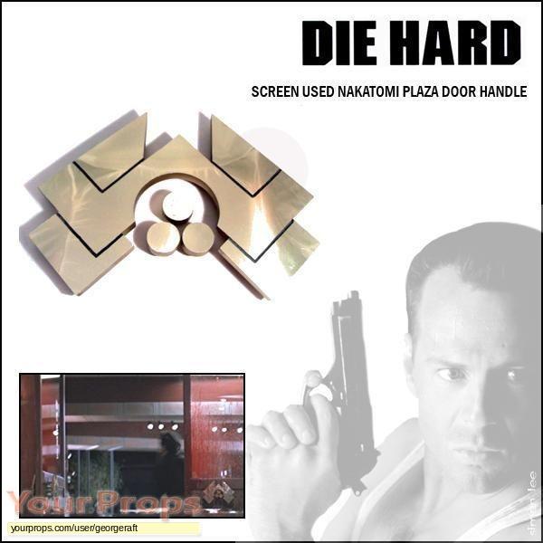 Die Hard original set dressing   pieces