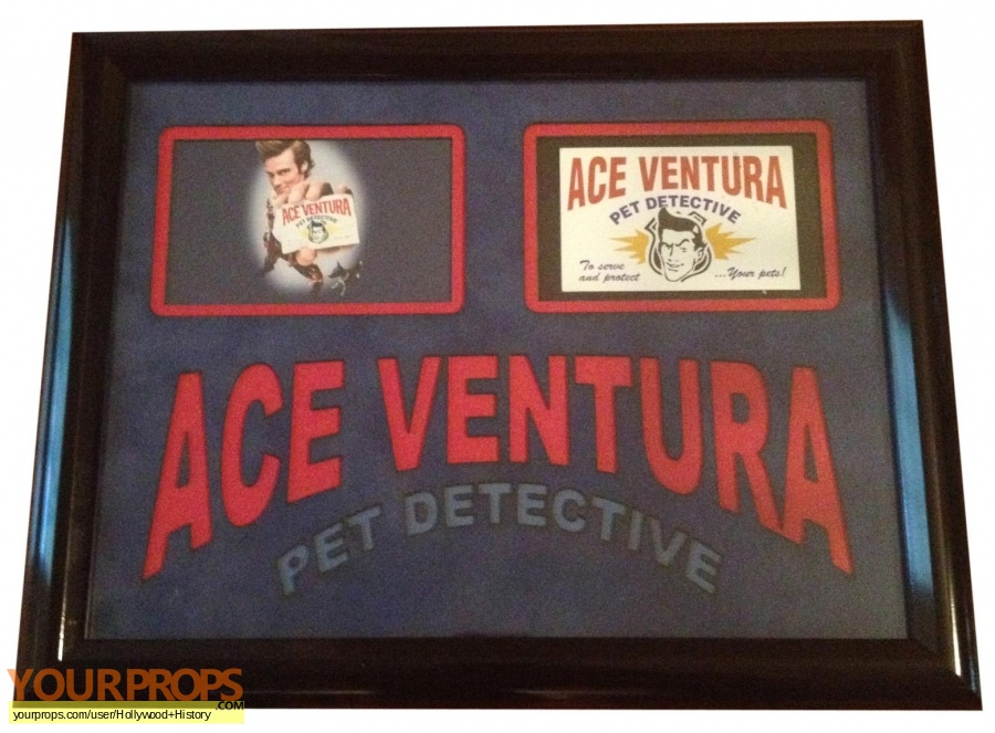 Ace Ventura  Pet Detective original movie prop