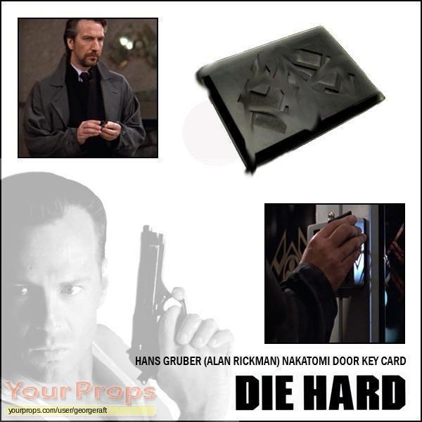 Die Hard original movie prop