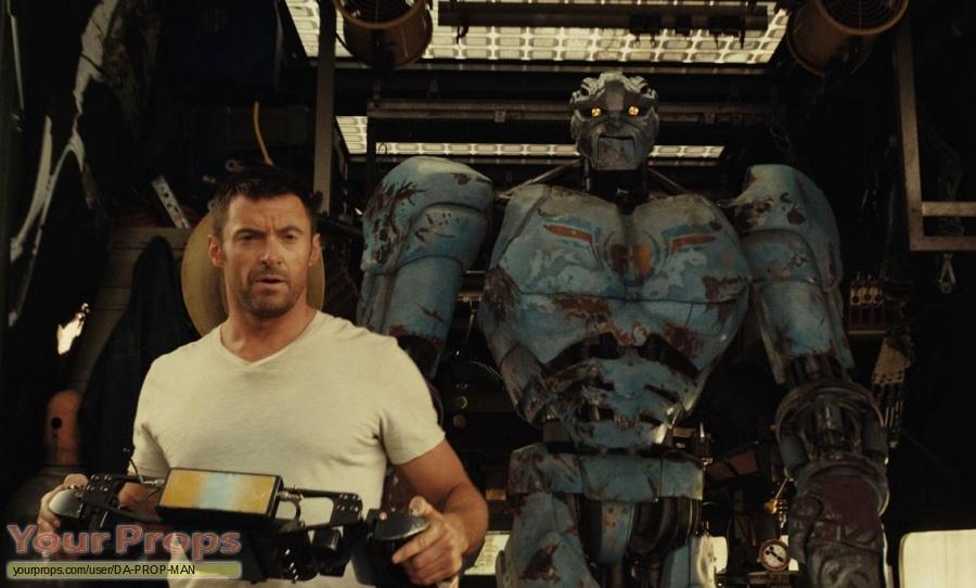 Real Steel original movie prop