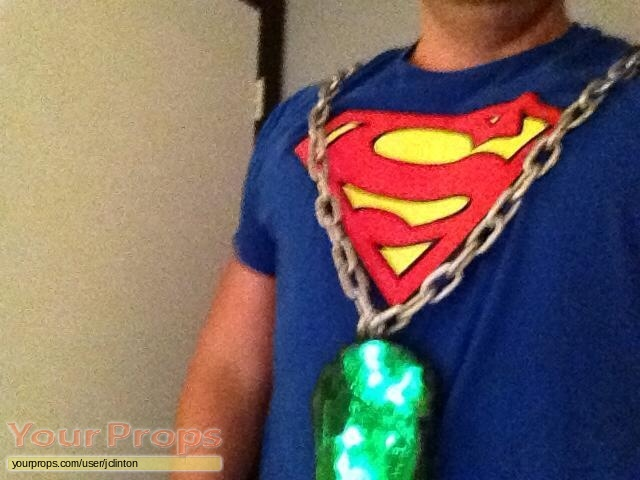 Superman made from scratch movie prop