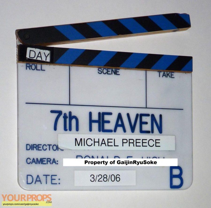 7th Heaven original production material