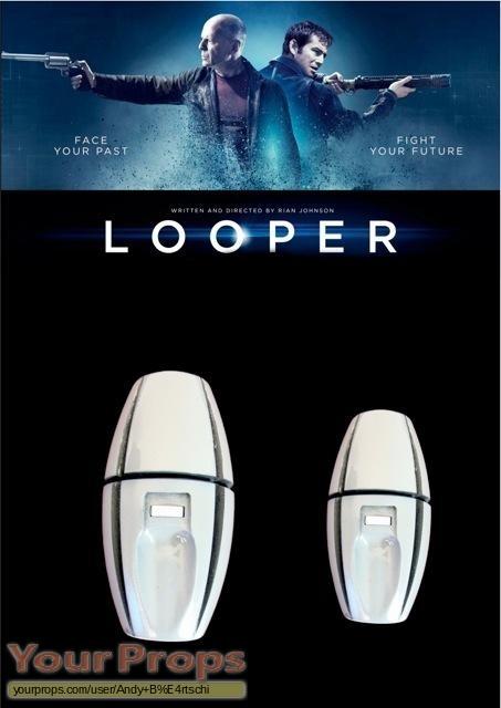 Looper original movie prop weapon
