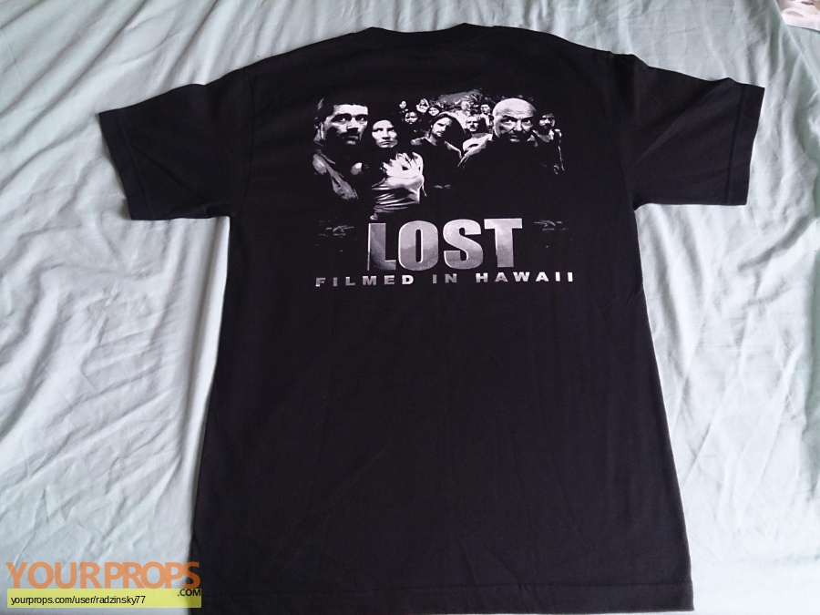 Lost original film-crew items