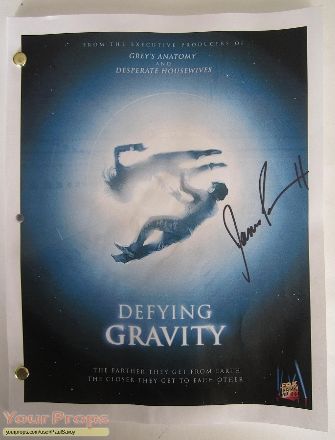 Defying Gravity Sideshow Collectibles film-crew items