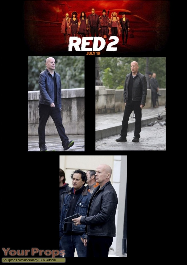 Red 2 original movie costume