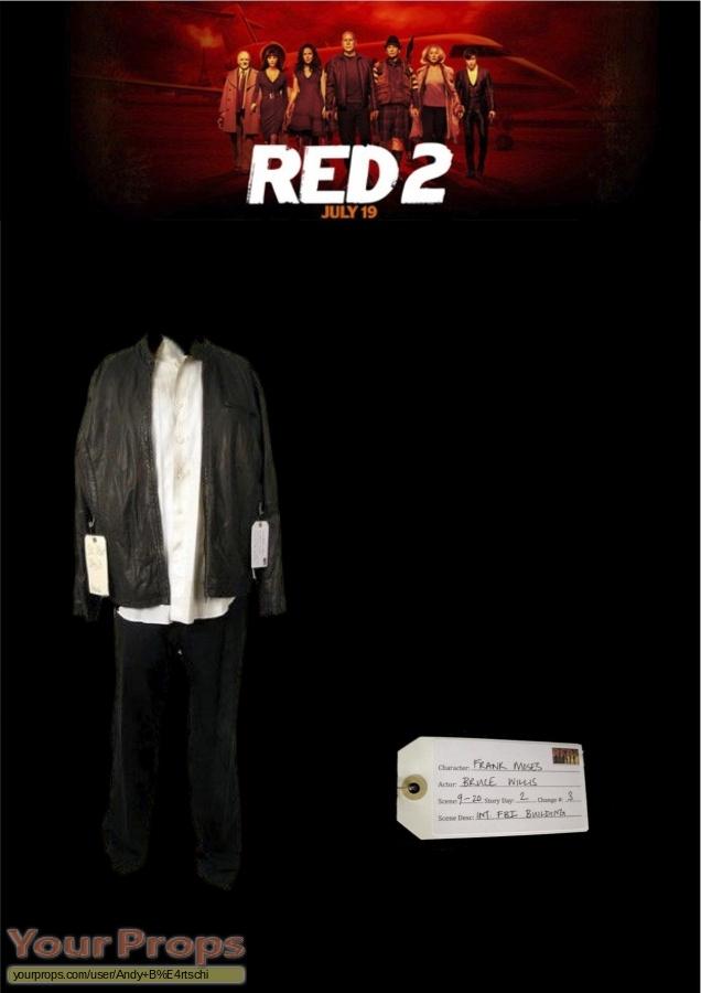 Red 2 original movie costume