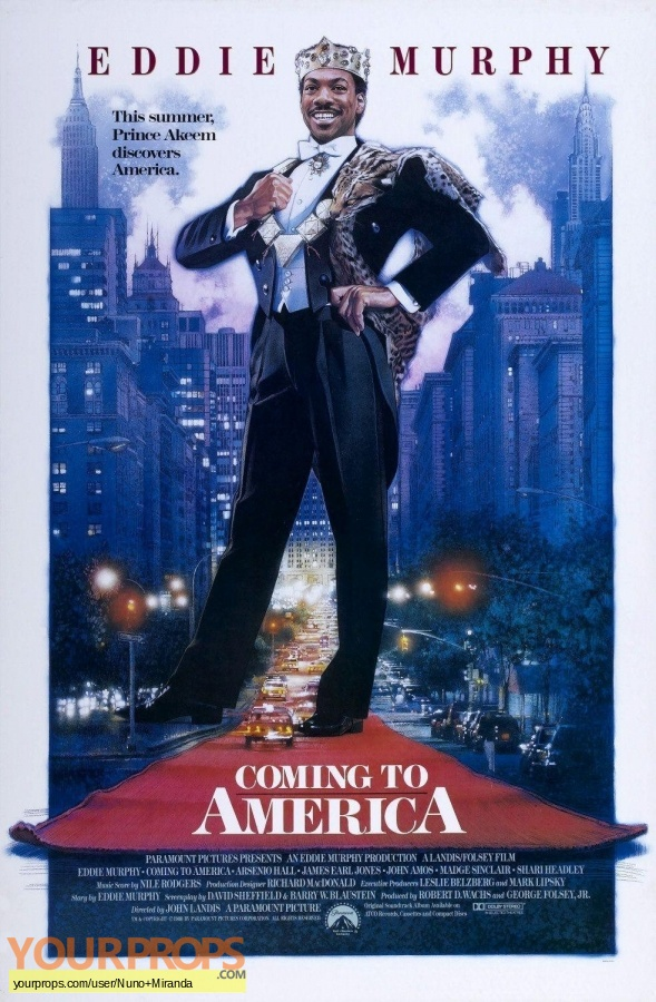Coming To America original movie prop