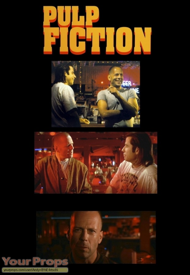 Pulp Fiction original movie prop