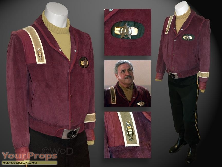Star Trek III  The Search for Spock original movie costume