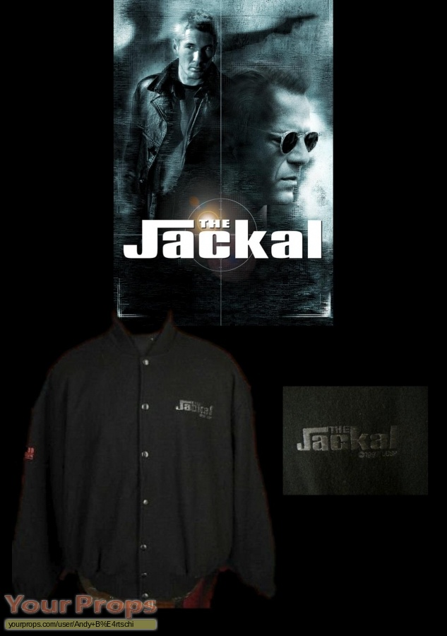 The Jackal original film-crew items