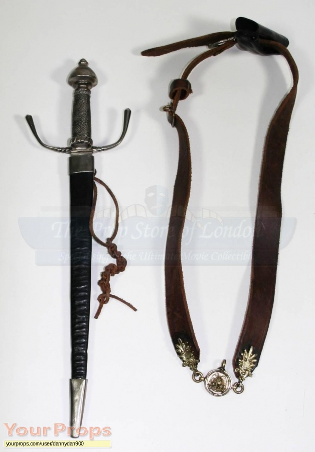 The Man in the Iron Mask original movie prop weapon