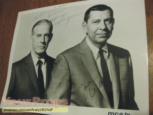 Dragnet replica movie prop