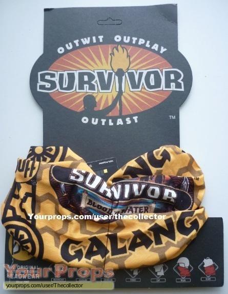 Survivor Blood vs  Water original movie prop