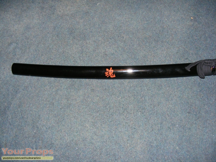 The Last Samurai replica movie prop