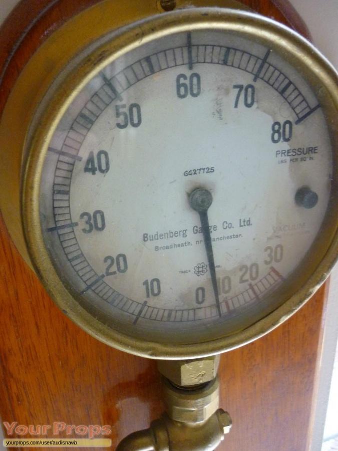 Titanic Engine Room Scene: Titanic Steam Pressure Gauge Original Movie Prop