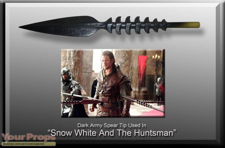 Snow White and the Huntsman original movie prop weapon