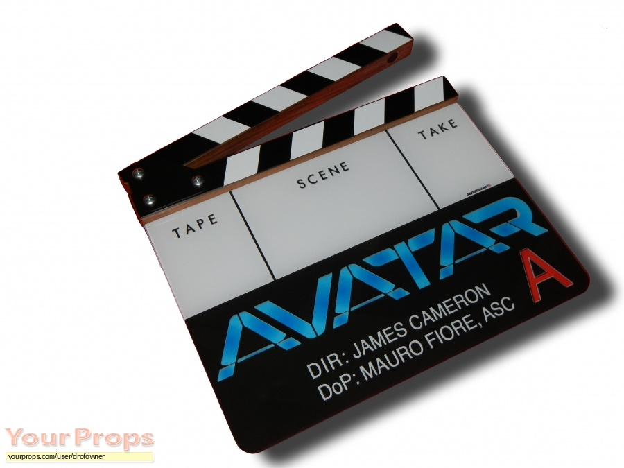 Avatar original production material