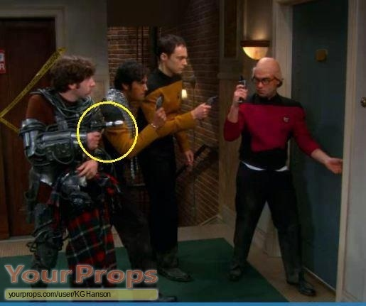 The Big Bang Theory original movie prop weapon