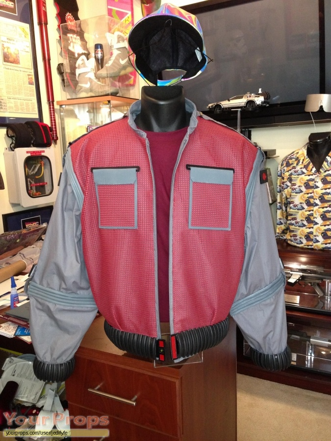 Back To The Future 2 made from scratch movie costume