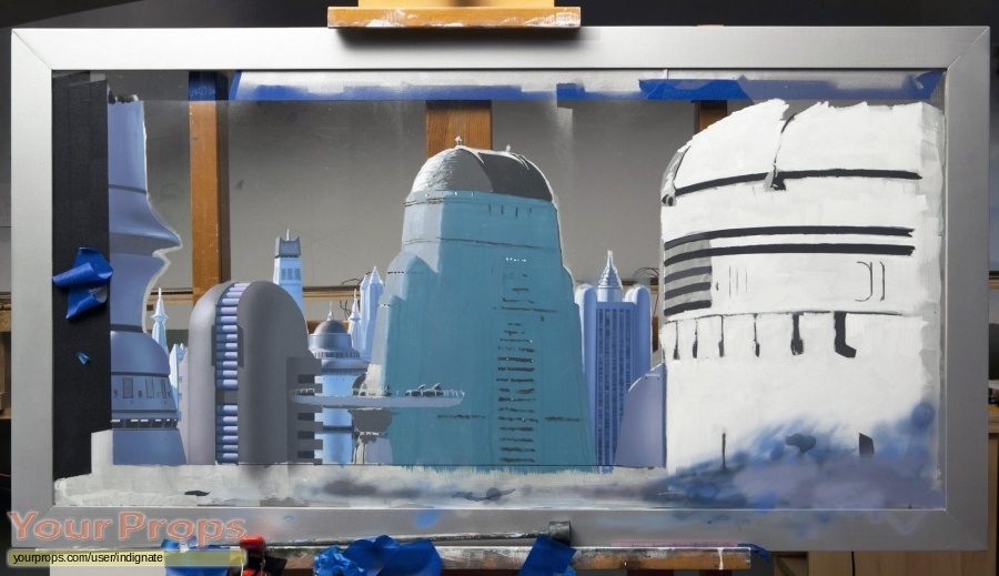 Star Wars  The Empire Strikes Back replica production artwork