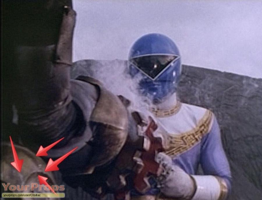 Power Rangers Zeo original movie prop
