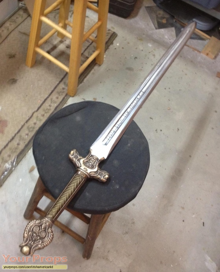 King Arthur made from scratch movie prop weapon