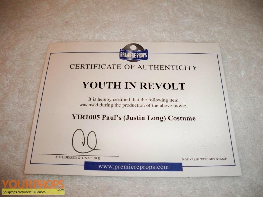 Youth in Revolt original movie costume
