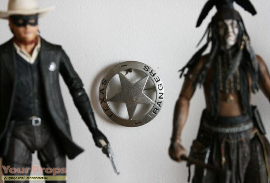 The Lone Ranger replica movie prop