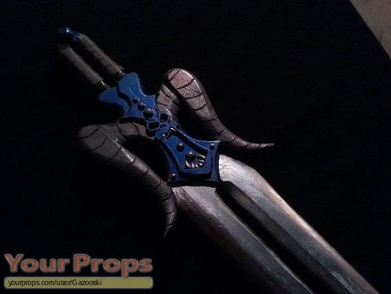 He-Man and the Masters of the Universe made from scratch movie prop weapon