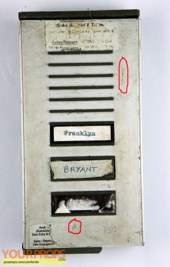 Franklyn original movie prop