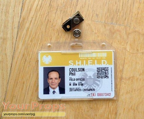 Agents of S H I E L D  replica movie prop