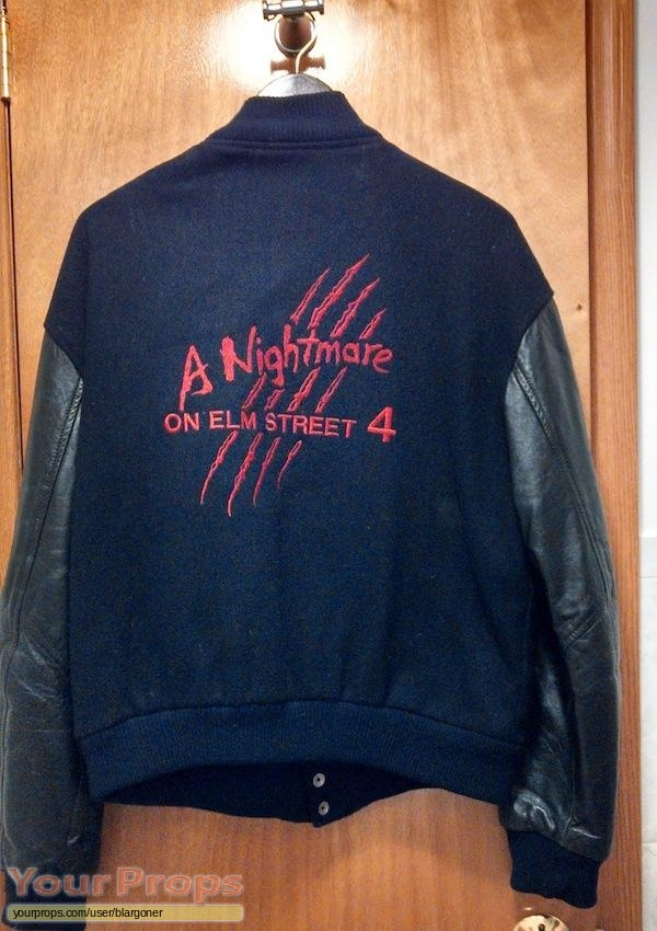 A Nightmare On Elm Street 4  The Dream Master original film-crew items