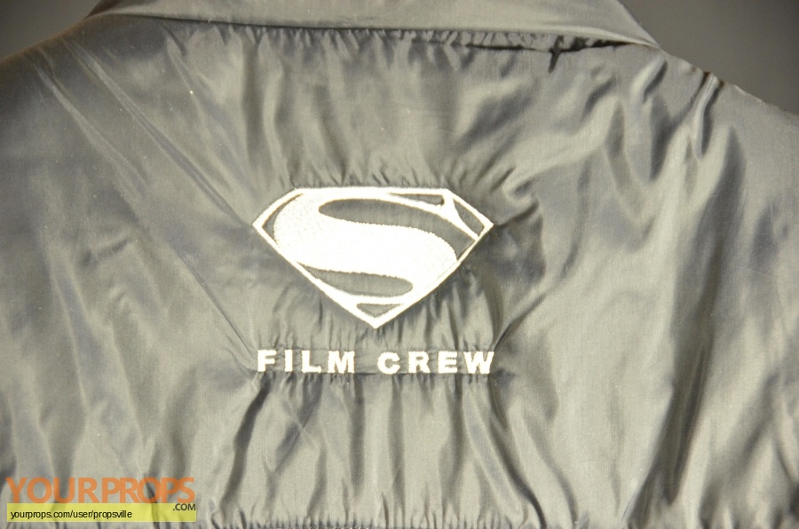 Man of Steel original film-crew items