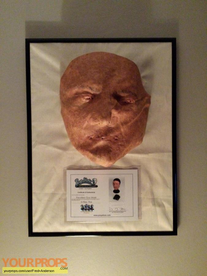 The X Files original make-up   prosthetics