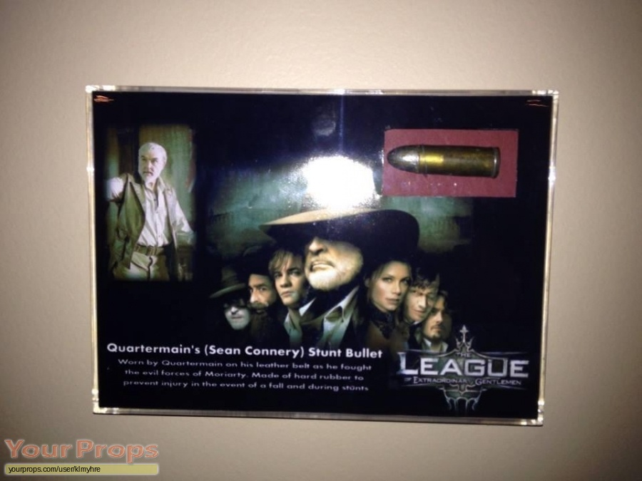 The League of Extraordinary Gentlemen original movie prop