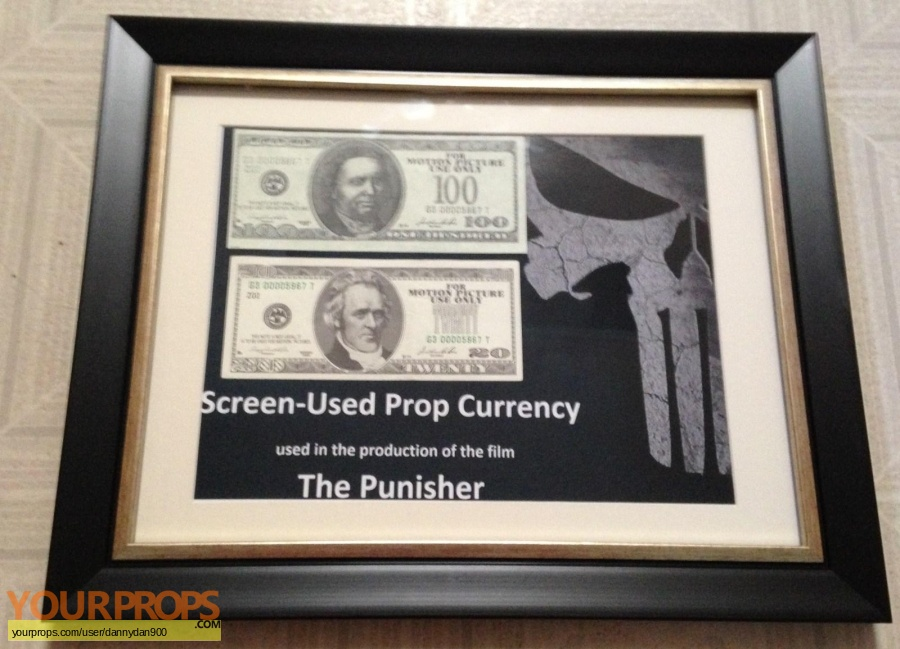 The Punisher original movie prop